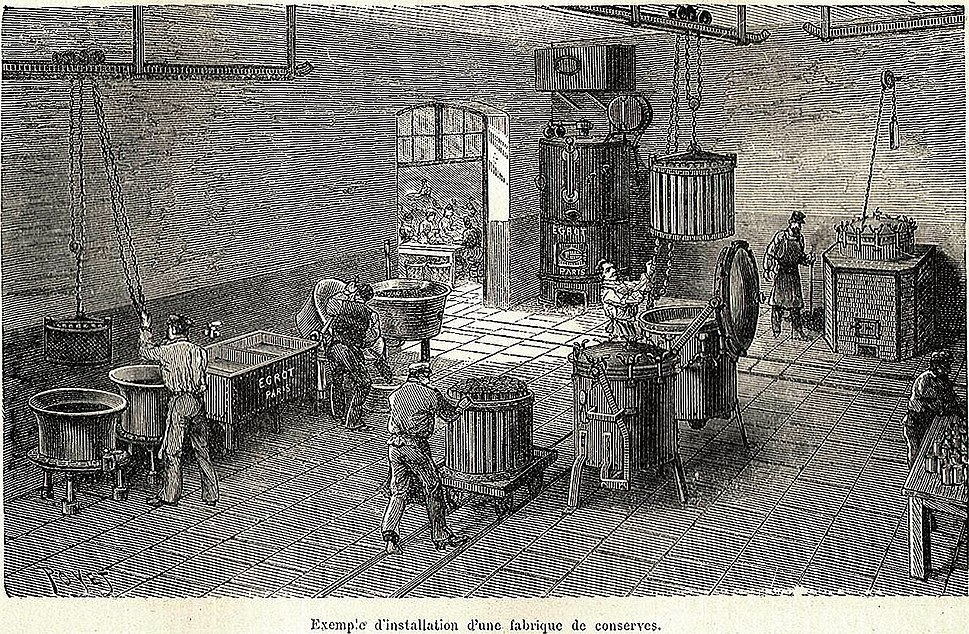 Canned food factory (1898)