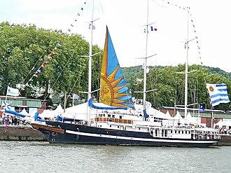 Capitan Miranda (ROU schooner) - Image: Capitan Miranda Armada Rouen 2008