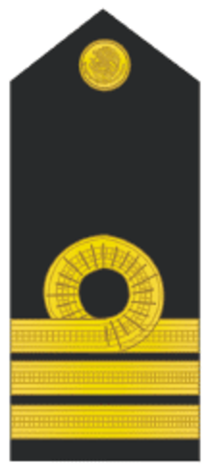 Naval ranks and insignia of Mexico - Image: Capitan de fragata
