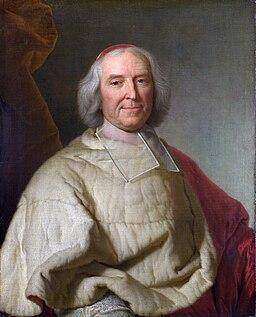 Cardinal de Fleury by Rigaud