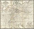 Carl Jügel's post u. reise karte von Deutschland und den nachbar staaten, bis London, Paris, Montpellier, Florenz, Warschau, Kopenhagen (14775485199).jpg