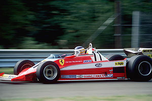 Ferrari 312T - Ferrari 312T3 driven by Carlos Reutemann in 1978 USA Grand Prix at Watkins Glen, NY