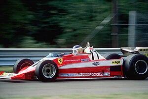 Carlos Reutemann - Reutemann Driving his Ferrari 312T3, Reutemann won the 1978 USA Grand Prix at Watkins Glen, USA.
