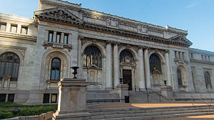 Historical Society of Washington, D.C. - Carnegie Library in 2012.