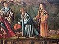 Carpaccio, storie di s.orsola 04, Incontro dei fidanzati e partenza dei pellegrini, 1495, 08.JPG