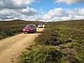 Cars invade Bollihope Moor - geograph.org.uk - 510425.jpg