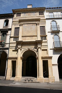 Casa Cogollo in Vicenza