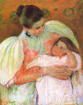 Nanny - A child and her nanny