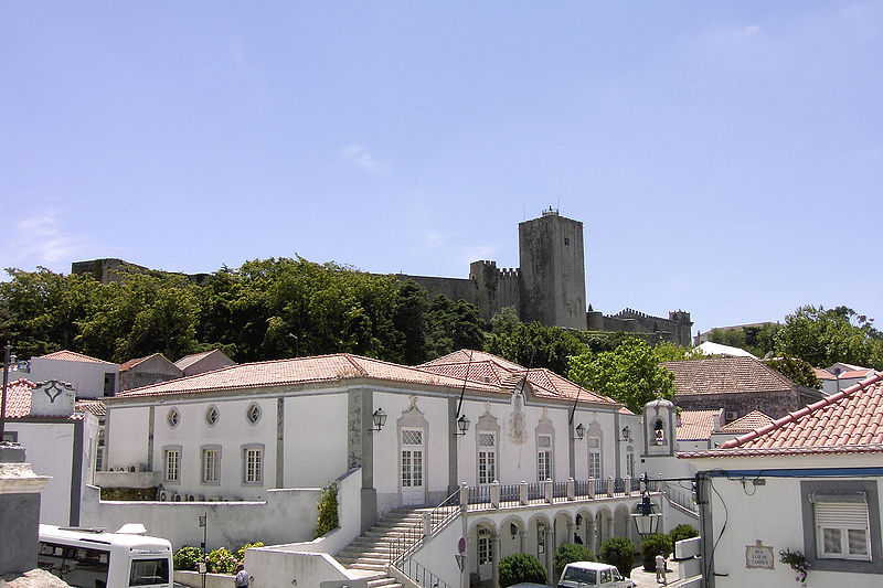 Vista da Câmara e Castelo de Palmela