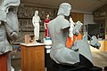Casts of archaic Greek sculptures, Rampin rider, Cambridge Museum of Classical Archaeology, 157474.jpg