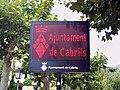 Catalonia Cabrils CartellLluminos.JPG