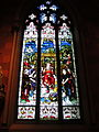 Cathedral of the Immaculate Conception (Albany, New York) - interior, stained glass, The Parable of the Workers.jpg