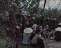 Cavalryman guards villagers, Operation Pershing,June 1967.jpg
