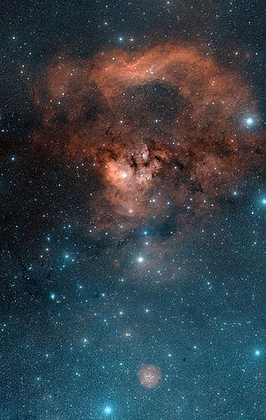 NGC 7822 - Image: Cederblad 214 and NGC 7822 Nebulae Davidedemartin 6