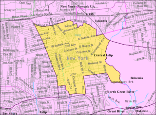 Central Islip, New York Hamlet and census-designated place in New York, United States