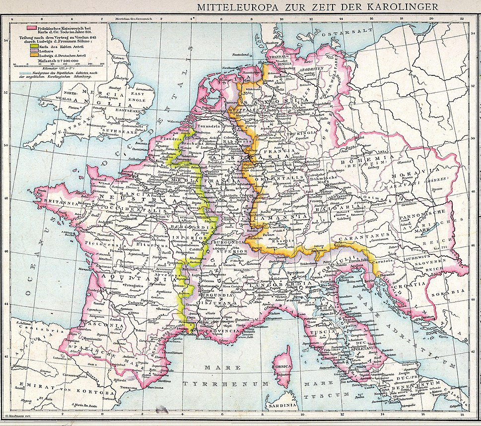 Central Europe in Carolingian times