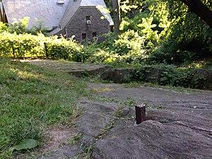 Central Park - John Randel's survey bolt