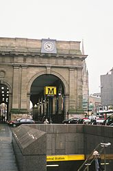 Central Station, Newcastle upon Tyne, 18 January 2006 (1).jpg