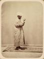 Ceremonies Performed by Muslims during Prayer. Raising Hands in Prayer WDL10794.png