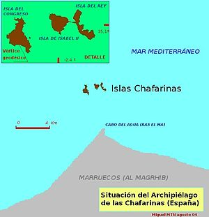Chafarinas Islands - Image: Chafarinas