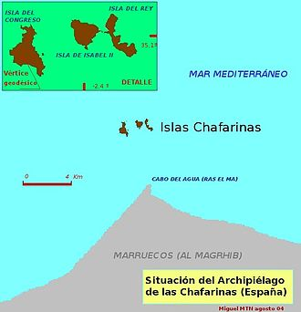 Chafarinas Islands - Image: Chafarinas
