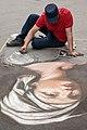 Chalk artist on a street, Florence, Italy.jpg