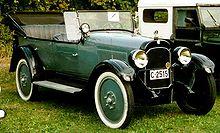 1922 open touring car