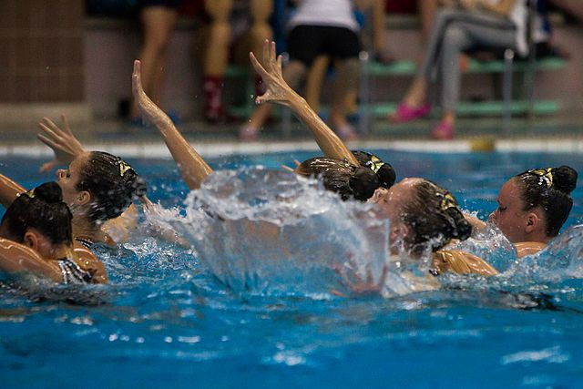 Championship of the North-West Federal District in synchronized swimming (2016-10-20) 04.jpg