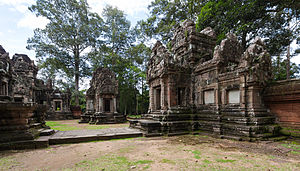 Chau Say Tevoda - Chau Say Tevoda temple