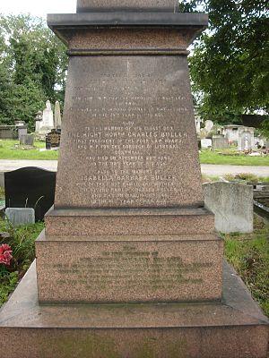 Charles Buller - Funerary monument, Kensal Green Cemetery, London