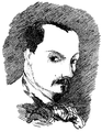 Charles Baudelaire - Self portrait - 1848.png