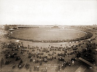 Sydney Cricket Ground - The Cricket Ground in 1892