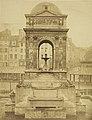 Charles Marville, La Façade est de la Fontaine des Innocents, 1856.jpg