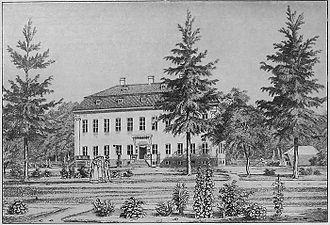 Heinrich Gustav Ferdinand Holm - Image: Charlottenlund ca 1830