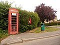 Charminster, postbox No. DT2 178 and phone, East Hill - geograph.org.uk - 1344206.jpg