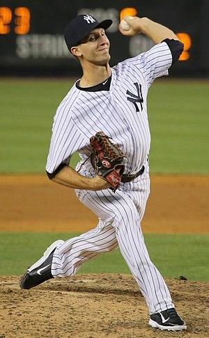 Chasen Shreve - Shreve with the New York Yankees