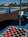 Checkers on the San Clemente Pier - panoramio.jpg