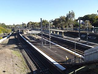 Chelmer railway station railway station in Brisbane, Queensland, Australia