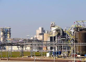 Delfzijl - Chemie Park Delfzijl in 2011