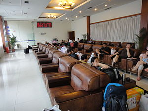 Chengdu Railway Station - Soft Seat Waiting Area 2