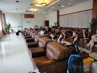Chengdu Railway Station - Soft Seat Waiting Area 2