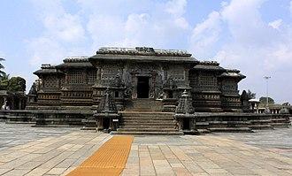 Vesara - The Kesava shrine at the Chennakeshava Temple, Belur