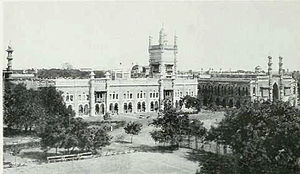 Chepauk Palace - A panoramic view of Chepauk Palace
