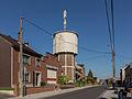 Cheratte-Hauteurs, watertoren in straatzicht foto4 2014-10-19 13.00.jpg