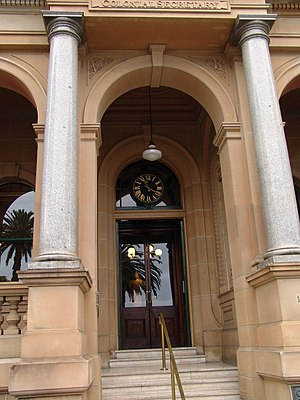 Chief Secretary of New South Wales - The Chief Secretary's Building in Macquarie Street, Sydney.