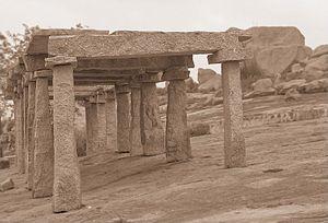 Chikkajala - Chikkajala temple pillars