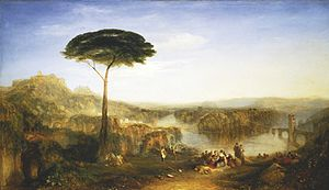 Childe Harold's Pilgrimage - Childe Harold's Pilgrimage by Joseph Mallord William Turner, 1823.