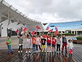 Children with ROC flags at Expo Dome 20141010b.jpg