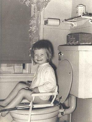 Toilet training - Image: Childs Toilet