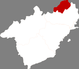 Nanpiao District District in Liaoning, Peoples Republic of China